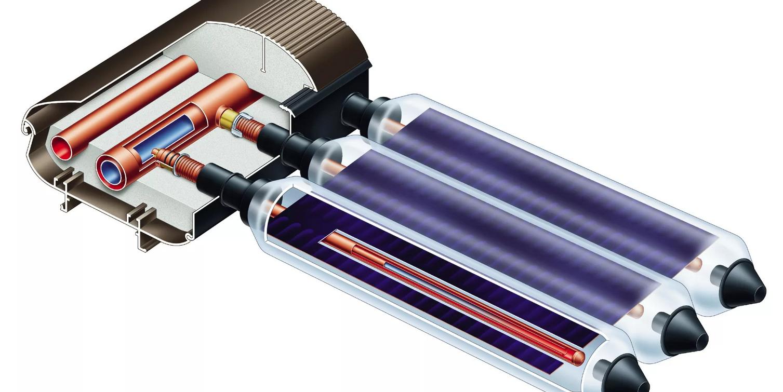 Солнечный коллектор вакуумный для отопления