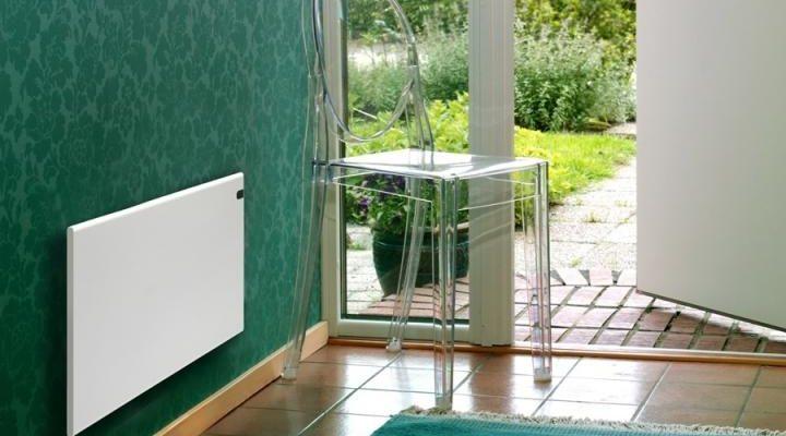Настенный или напольный электрический конвектор отопления