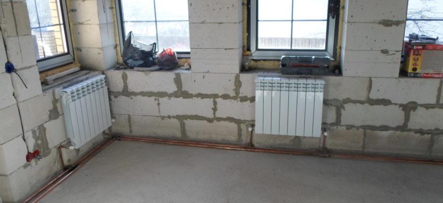 Устройство системы отопления «ленинградка» в частном доме