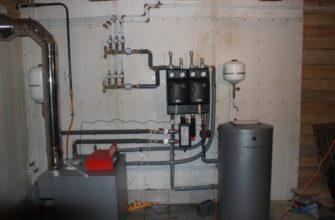 Как правильно сделать паровое отопление в двухэтажном частном доме
