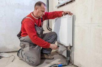 Как самостоятельно подсоединить радиатор отопления