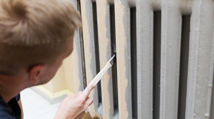 Окрашивание отопительных радиаторов