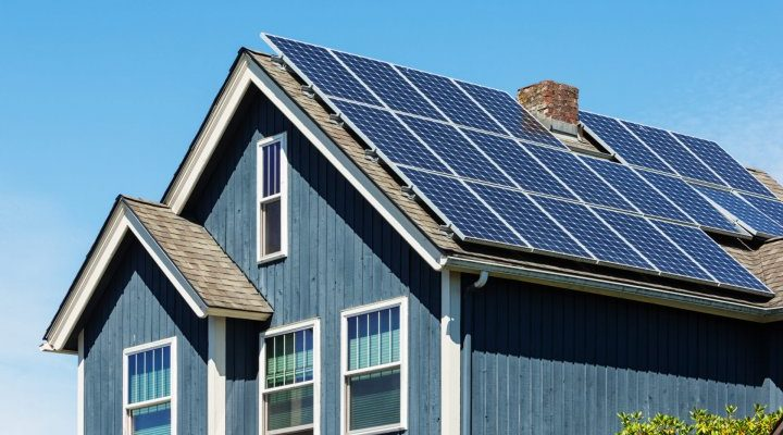 Отопление частного дома солнечными батареями