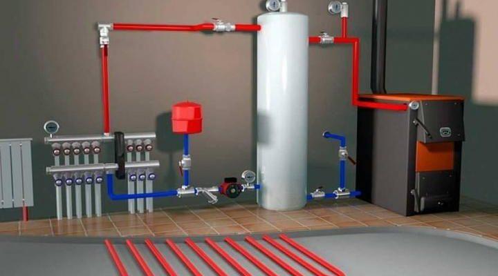 Отопление в частном доме газовое, твердотопливное, электрическое, воздушное