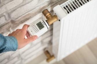 регулирование температуры с помощью термостата для батарей отопления