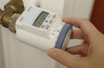 Термостат и терморегулятор: установка на радиатор отопления