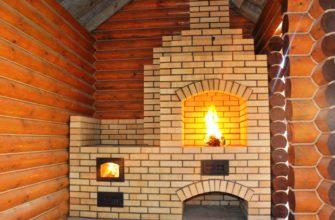 Выполняем отопление в частном доме с помощью печи и камина