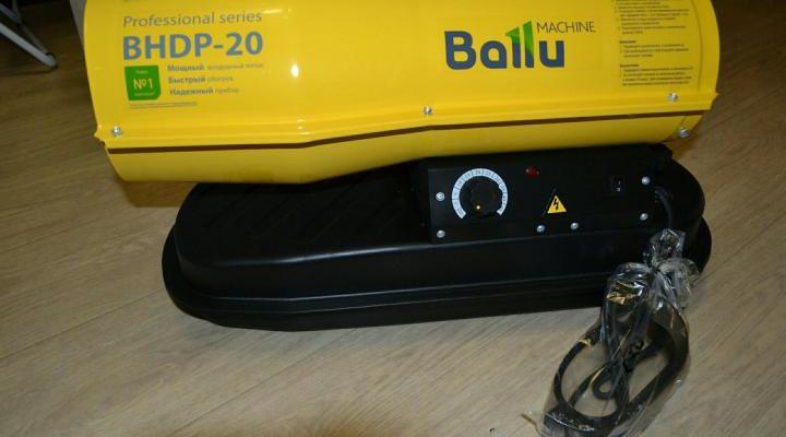 Дизельная тепловая пушка для отопления гаража
