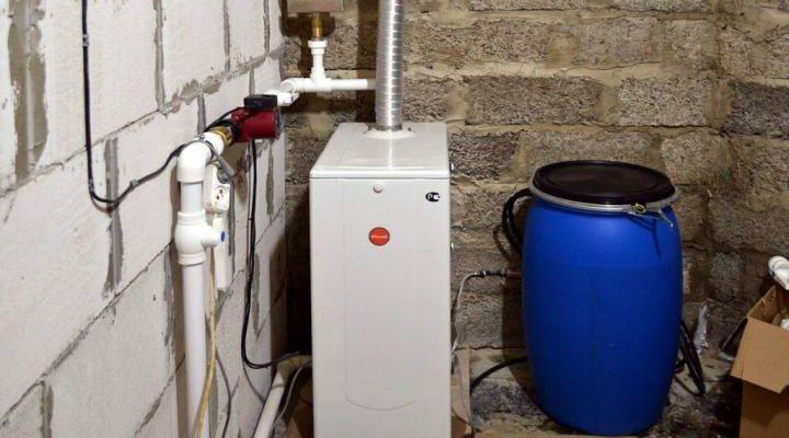 Какие электрические котлы используются для отопления гаража