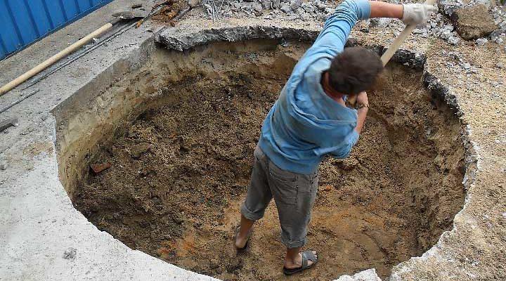 Копать колодец своими руками