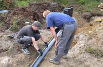 Определение оптимальной глубины заложения канализационной трубы