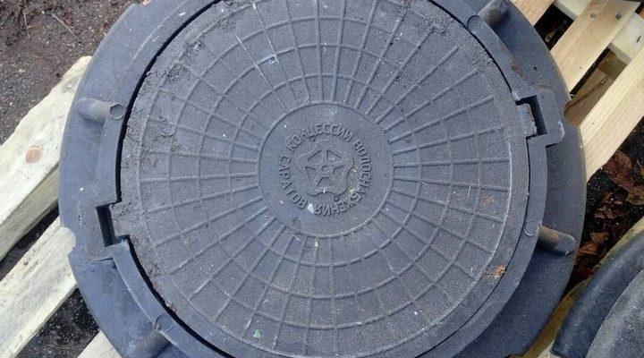 Особенности крышки канализационного люка