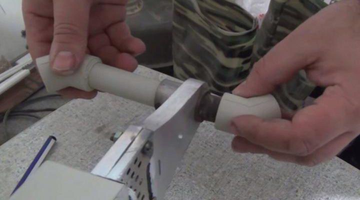 Порядок проведения пайки полипропиленовых труб