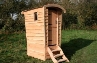 строительства дачного туалета