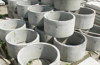 Строительство канализации из бетонных