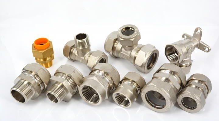 Устройство и монтаж фитингов для металлопластиковых труб