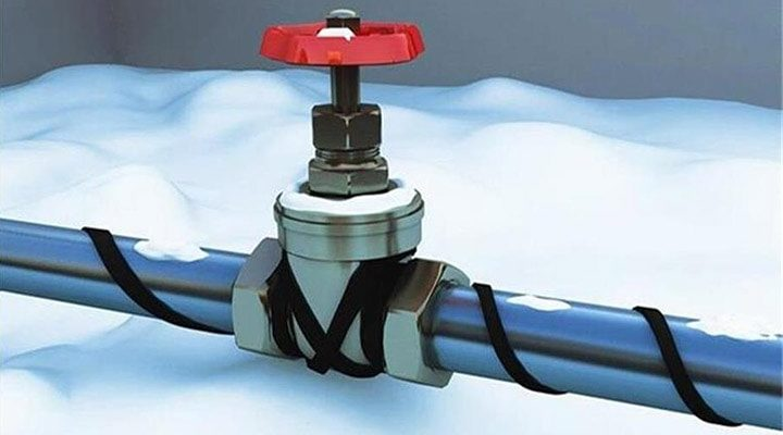 Принципы работы греющих кабелей для водопровода